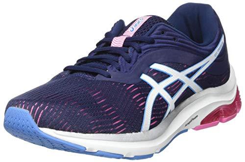 ASICS Damen Gel-Pulse 11 Leichtathletik-Schuh, Peacoat/Weiss, 37.5 EU