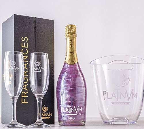 Pack Platinvm n6 de Violetas y Frutas del Bosque 750ml. con estuche, cubitera y copas