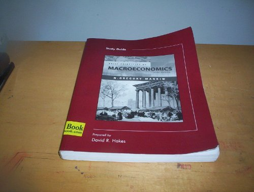 Study Guide to accompany Brief Principles of Macroeconomics