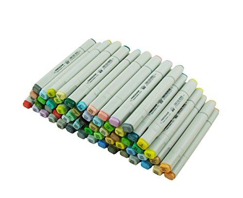 Erofa Finecolour Sketch Marker Pen 60-Piece Sketch Set Artist...