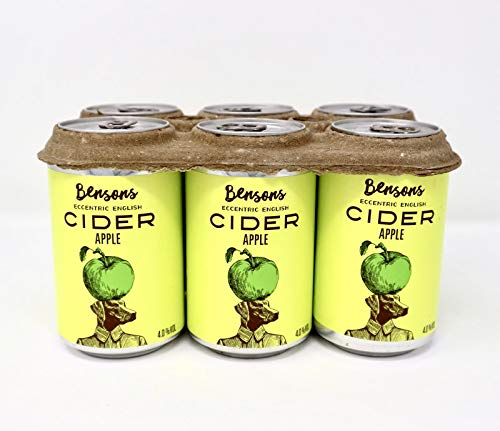 Bensons Apple Cider - 6 x 330ml cans