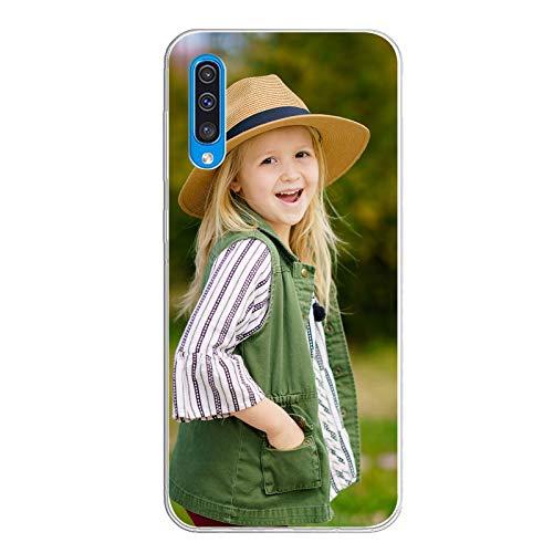 Suhctup Custodia Cover per Xiaomi Redmi 9 Silicone Ultra Sottile Cellulare con Foto Personalizzata, Customised Protettiva Case, Immagine o Scritta Stampa di qualità Fotografica