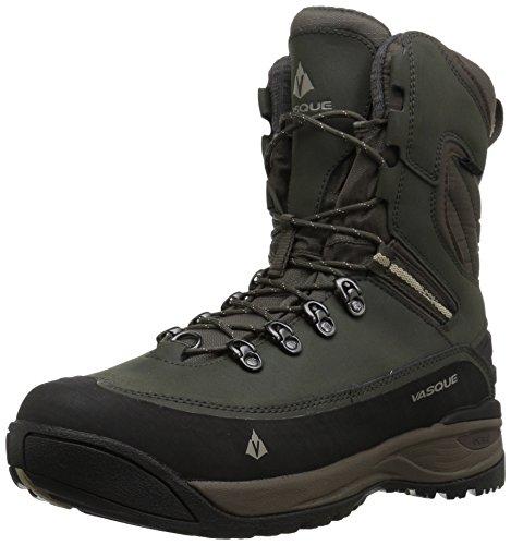 Vasque mens Snowburban Ii Ultradry Snow Boot, Brown Olive/Aluminum, 11.5 US
