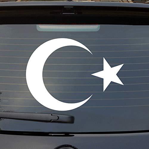 Hellweg Druckerei Auto Aufkleber Türkei Turkey türkiye Erdogan Heckscheibe Sticker