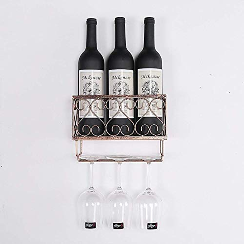 JYDQM Botellero, Botellero/Botellero Multiusos Montado en la Pared para Restaurantes, Alenamiento de Cocinas