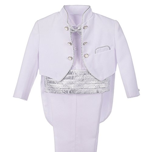Spring Notion Baby Boys' Formal White Dress Suit Set 2T