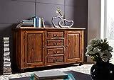 MASSIVMOEBEL24.DE Kolonialart Palisander Massivmöbel lackiert Sideboard Sheesham vollmassiv Möbel massiv Holz New Boston #210