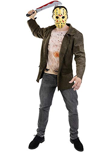 Funidelia | Disfraz de Jason Viernes 13 Oficial para Hombre Talla M ▶ Friday The...