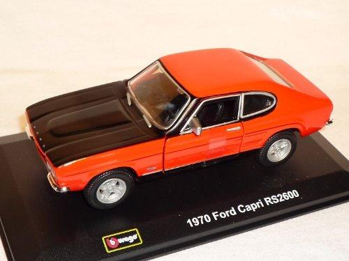 FORD CAPRI RS2600 RS 2600 ROT 1970 1/32 BBURAGO BURAGO MODELLAUTO MODELL AUTO