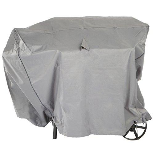 Ultranatura Gewebe-Schutzhülle Sylt für den Gartengrill, Grillschutzhülle, BBQ Abdeckhaube, Wetterschutzhülle für Gasgrill oder Smoker, BBQ-Abdeckung in, rechteckig, 120 x 75 x 100 cm