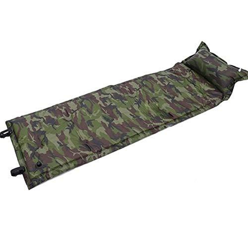 Coperta da Picnic Gonfiabile Automatico Sleeping Pad Bag Cuscino Inflable Materassino Materasso di Aria della Base di Campeggio della stuoia di Picnic (Colore : Camouflage)
