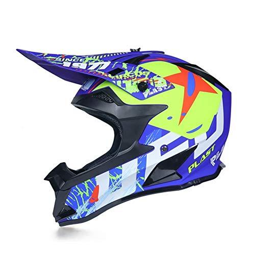 Henanyimeixiang Casco de motocross Casco de carretera Capacete Cross Downhill Moto MTB...