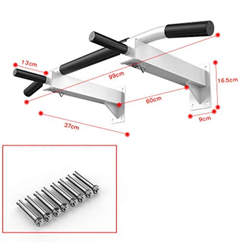 DSHUJC Fitness Equipment, Multifunction Home Gym Exercise Equipment Dip Station Chin Up Bar Core Power Tower Pull Push for Strong Muscleped