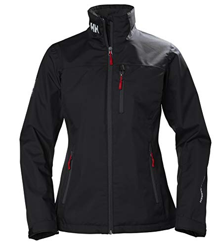 Helly Hansen W Crew Midlayer Jacket Chaqueta Impermeable, Mujer, Black, L