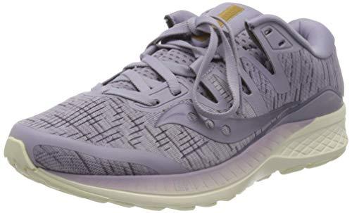 Saucony Women's Ride ISO Running Shoe (8.5 M US, Purple Shade)