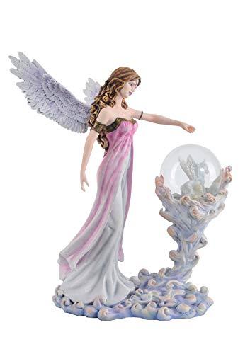 Les Alpes Orig. Fata CAMISAI con Sfera Magica, Collezione Fairy Land, Altezza 31 cm, novità 2019 - Statuetta Figura Dipinta a Mano - 052 10210
