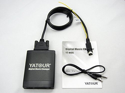 YATOUR Auto Muziekwisselaar Digitale Muziekwisselaar USB SD AUX MP3 Speler Adapter Digitale Auto Audio Input Interface Bluetooth(Optioneel) VOOR Volvo sc
