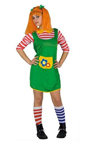 Fiori Paolo- Pel di Carota Costume Donna Adulto, Multicolore, Taglia 40-42, 62083