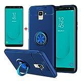 AKABEILA Samsung J6 2018 Case Screen Protector, Compatible