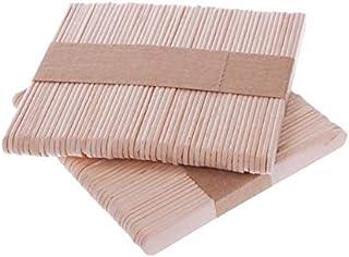 200 Pcs Craft Sticks Ice Cream Sticks Wooden Popsicle Sticks 114mm Length Treat Sticks Ice Pop Sticks