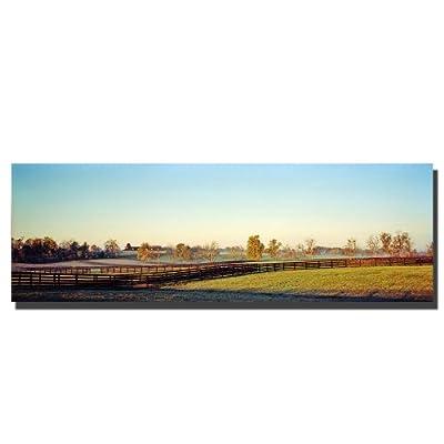 Trademark Art Kentucky Landscape Canvas Art by Preston