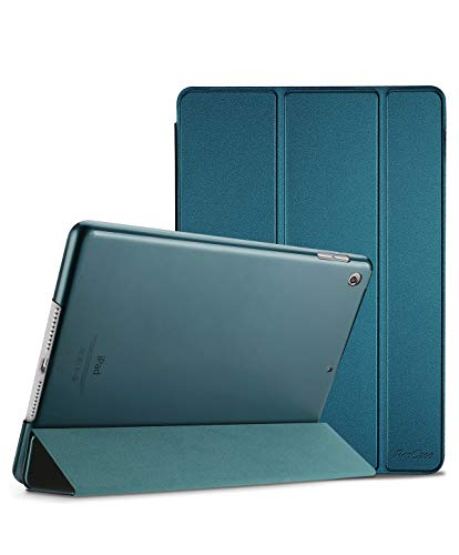 ProCase iPad Mini 5 Smart Case Cover 2019, Ultra Slim Lightweight Stand Protective Case Shell with Translucent Frosted Back, for 7.9' iPad Mini 5 (2019 Release) –Teal