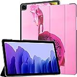 Funda para Samsung Galaxy Tab A7 Tableta de 10,4 Pulgadas 2020 (sm-t500 / t505 / t507), Pitahaya Dragon Fruit Funda con Soporte de ángulo múltiple con activación/suspensión automática