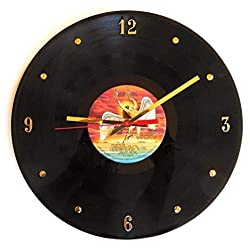 Record Clock - Led Zeppelin (The Song Remains The Same). Handmade 12 wall clock created with the ORIGINAL Classic Led Zeppelin record.