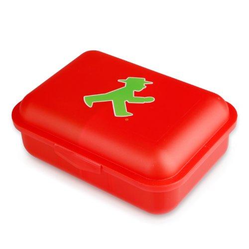 AMPELMANN Ampelmännchen-Brotbox rot-grün Einheitsgröße
