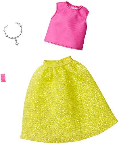 Barbie Set Sommer Zweiteiler Mattel GHW82 | Trend Mode Puppen-Kleidung