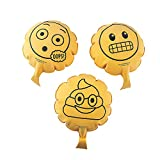 Fun Express Emoji Whoopie Cushion Set (12 Pieces) Gags Toys and Active Play