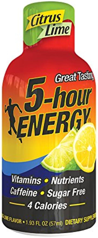 Living Essentials 5hour Energy, Lemonlime, 1.93Ounce Bottles (Pack of 12)