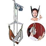 SUN RDPP Collarin Cervical Equipo de tracción Cervical Portal de descompresión Equipo ortopédico de tracción aéreos Dispositivo Ayuda del Cuello del Alivio del Dolor Terapia Física Set