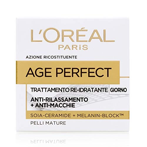 L'Oréal Paris Age Perfect Crema Viso Re-Idratante, Giorno - 50 ml