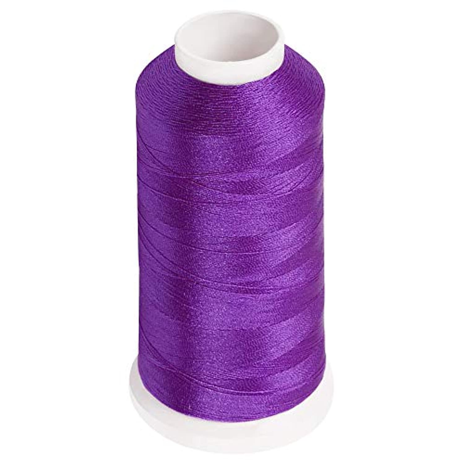 Desirable Life Bonded Nylon N66 Sewing Thread 1500 Yards Size #69 T70 210D/3 for Leather Denim Hand Machine Craft Shoe Bag Repairing Extra Strong Heavy Duty UV Rays Resistant Waterproof (Purple)