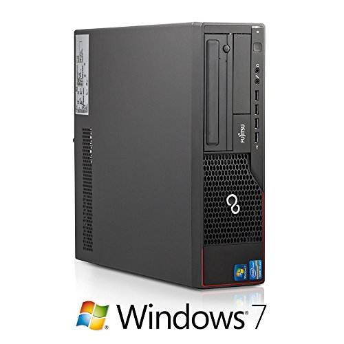 Fujitsu Esprimo E700 E85+ SFF Business PC (Core i5 Quad-Core 3.1GHz, 8GB RAM, 500GB HDD, DVD-ROM, Windows 7)