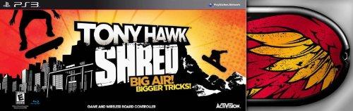 Tony Hawk: Shred Bundle - Playstation 3 (Skateboard Bundle)