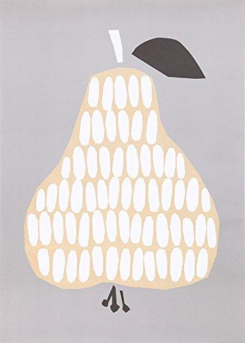 DARLING CLEMENTINE(ダーリン・クレメンタイン) Pear 洋なし ポスター 50×70cm ポスター おしゃれ 北欧 ポスター モノクロ ポスター 北欧
