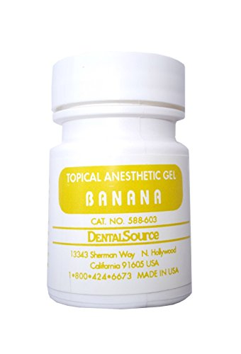 Dental Topical Anesthetic Gel 30 gm Banana Flavor