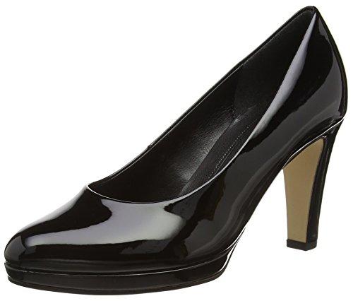 Gabor Splendid, Damen Pumps , Schwarz - Black (Black Patent Ht) - Größe: EU 38 (UK 5)