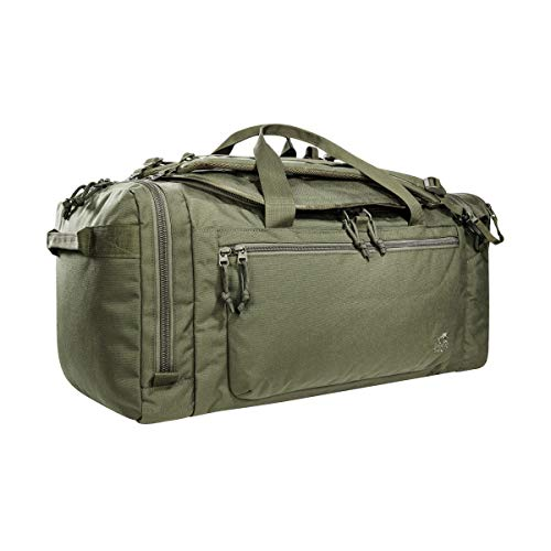 Tasmanian Tiger TT Officers Bag 58L Taktische Einsatz-Tasche Reise-Tasche mit Tragesystem zur Verwendung als Rucksack und Molle-Klett im Innenbereich, Oliv