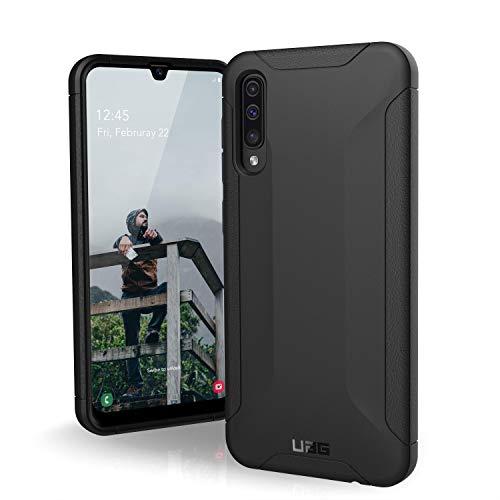 URBAN ARMOR GEAR Scout Funda para Samsung Galaxy A50 con estándar Militar Estadounidense [Resistente a Golpes, Esquinas reforzadas] - negro
