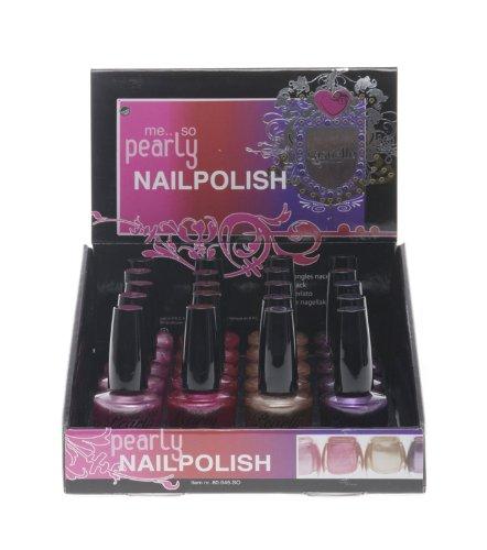 Treffina Casuelle Kosmetikkoffer Weiche Pearly Nail Polish 10ml