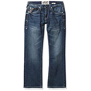 ARIAT Men's M7 Rocker Stretch Coltrane Stackable Straight Leg Jean