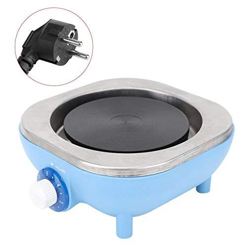 Salaty Elektroherd für den Haushalt, schnelle Erwärmung Hoher thermischer Wirkungsgrad 500 W Praktischer Elektroherd mit niedriger Innentemperatur für Jungen(Blue)