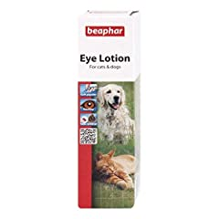 Beaphar Eye Lotion is a sterile saline-solution for cleaning in and around the eyes of dogs and cats. Use regularly to help keep eyes clean and free of dirt which may lead to the build up of other eye problems. Comes ready to use, with a soft applica...