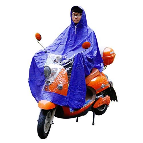 YONGYAO Imperméable De Moto Imperméable Scooter Mobilité Pluie Manteau Cape Poncho PVC