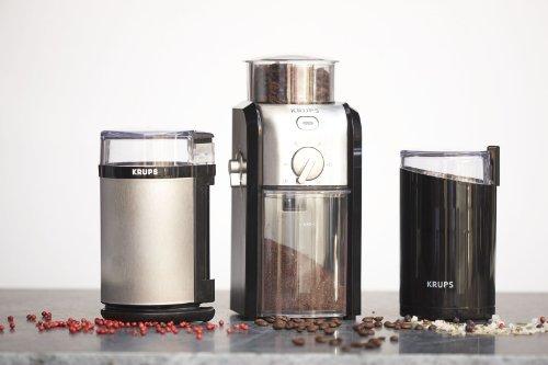 KRUPS GVX212 Coffee Grinder, 1, Black and Metal