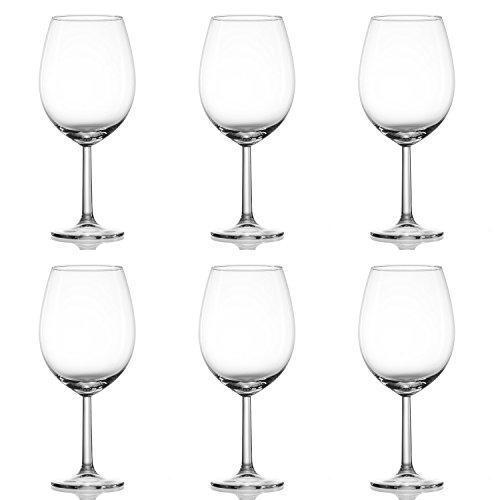 Ritzenhoff & Breker 4All Burgunder-Set, 6-tlg.,Transparent, Glas, 570ml