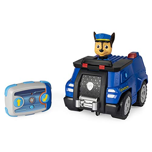 PAW Patrol, Chase Remote Control Police Cruiser with 2-Way Steering, for Kids Aged 3 and Up